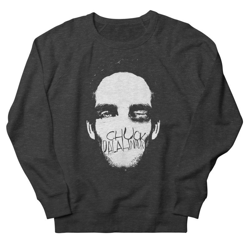 Bruiser Men's French Terry Sweatshirt by The Official ChuckPalahniuk.net Shop