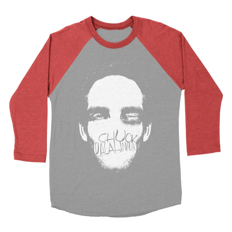 Bruiser Women's Baseball Triblend Longsleeve T-Shirt by The Official ChuckPalahniuk.net Shop