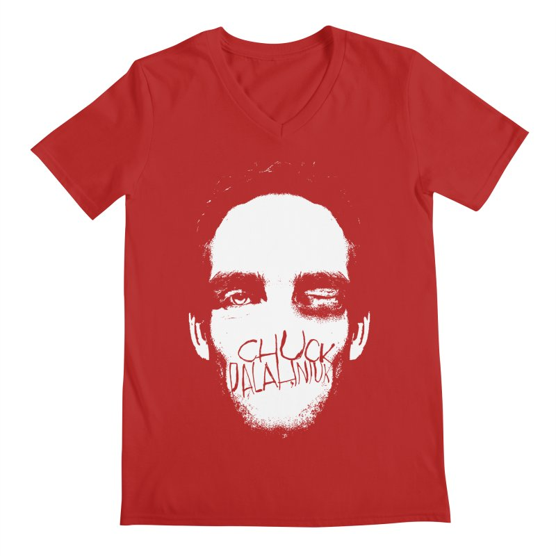 Bruiser Men's V-Neck by The Official ChuckPalahniuk.net Shop