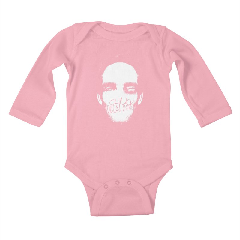 Bruiser Kids Baby Longsleeve Bodysuit by The Official ChuckPalahniuk.net Shop