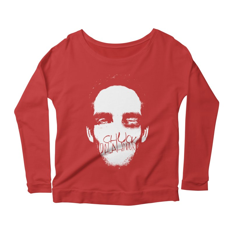Bruiser Women's Scoop Neck Longsleeve T-Shirt by The Official ChuckPalahniuk.net Shop