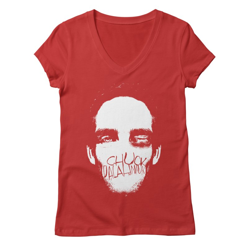 Bruiser Women's Regular V-Neck by The Official ChuckPalahniuk.net Shop
