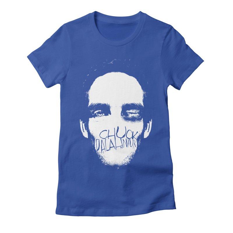 Bruiser Women's Fitted T-Shirt by The Official ChuckPalahniuk.net Shop