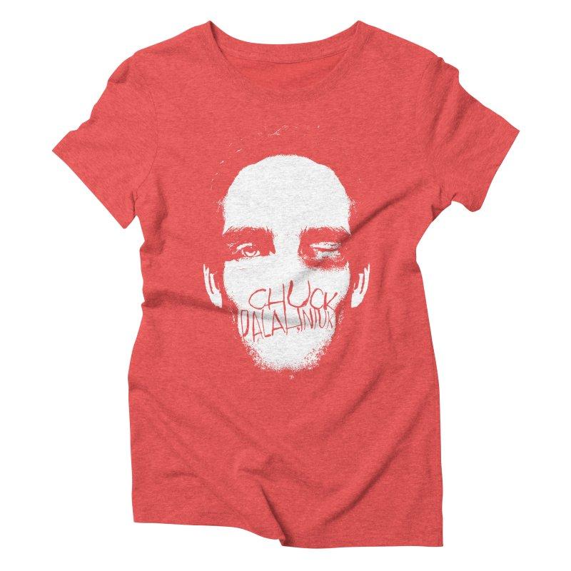 Bruiser Women's Triblend T-shirt by The Official ChuckPalahniuk.net Shop