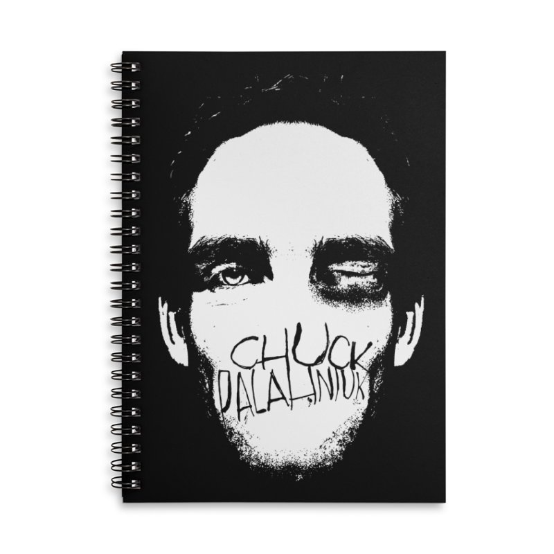 Bruiser Accessories Lined Spiral Notebook by The Official ChuckPalahniuk.net Shop