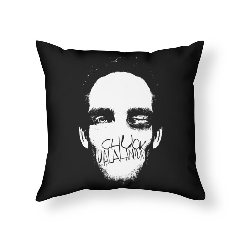 Bruiser Home Throw Pillow by The Official ChuckPalahniuk.net Shop