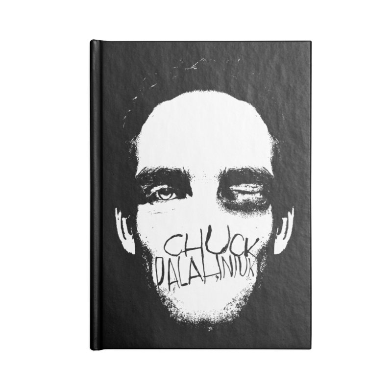 Bruiser Accessories Blank Journal Notebook by The Official ChuckPalahniuk.net Shop