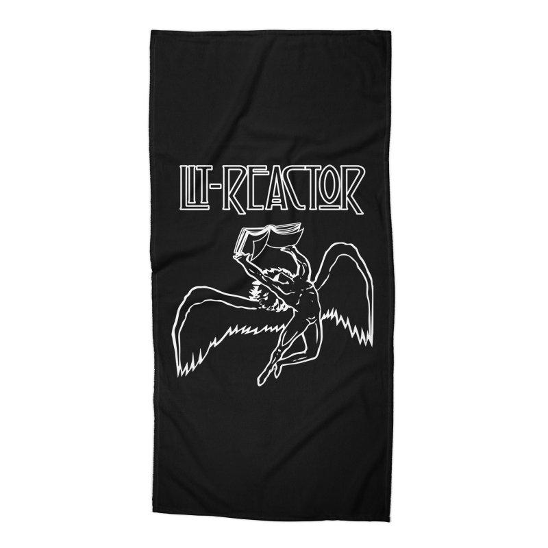 LitReactor - Band Logo Accessories Beach Towel by The Official ChuckPalahniuk.net Shop