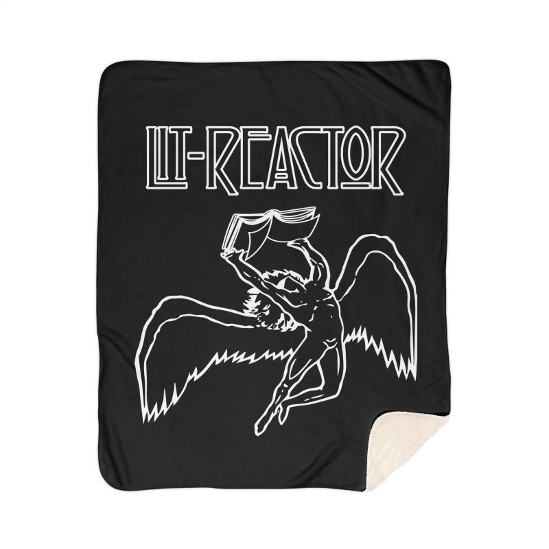 LitReactor - Band Logo Home Blanket by The Official ChuckPalahniuk.net Shop