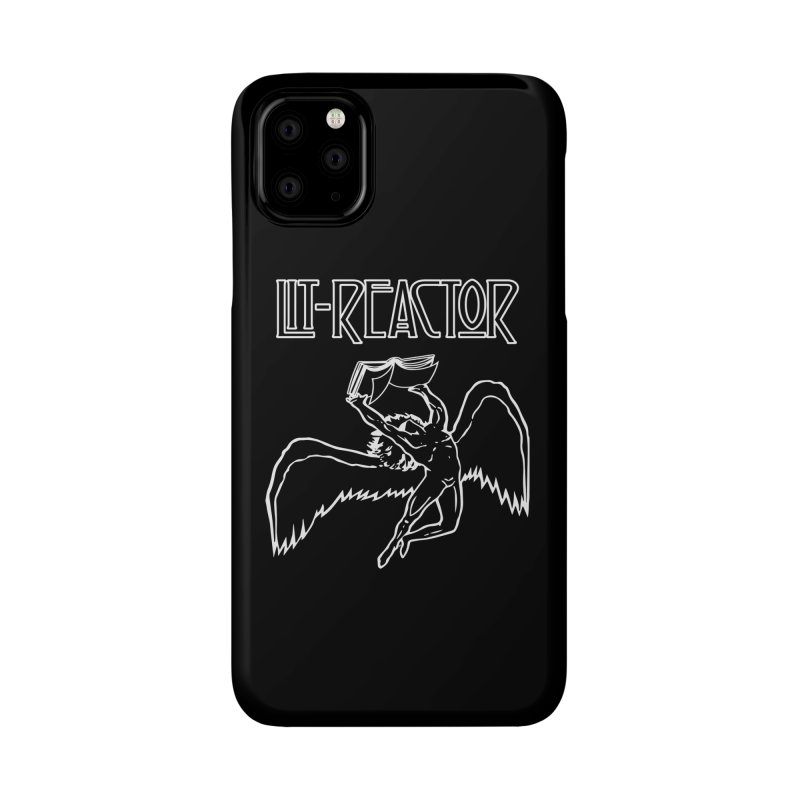 LitReactor - Band Logo Accessories Phone Case by The Official ChuckPalahniuk.net Shop