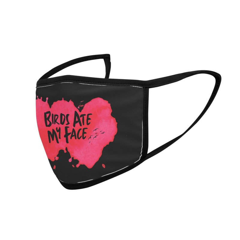 Birds Ate My Face Accessories Face Mask by The Official ChuckPalahniuk.net Shop