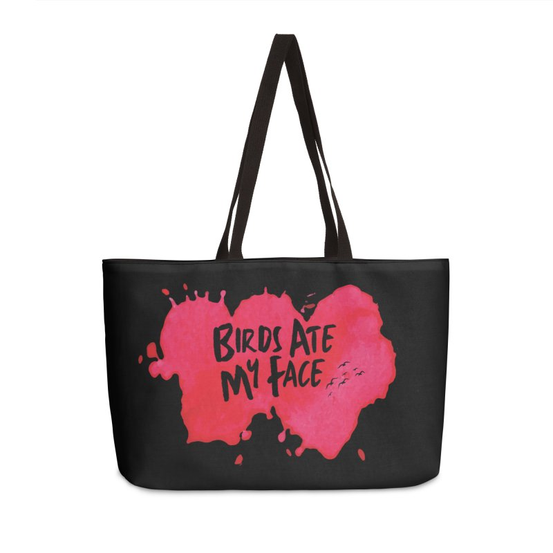 Birds Ate My Face Accessories Bag by The Official ChuckPalahniuk.net Shop