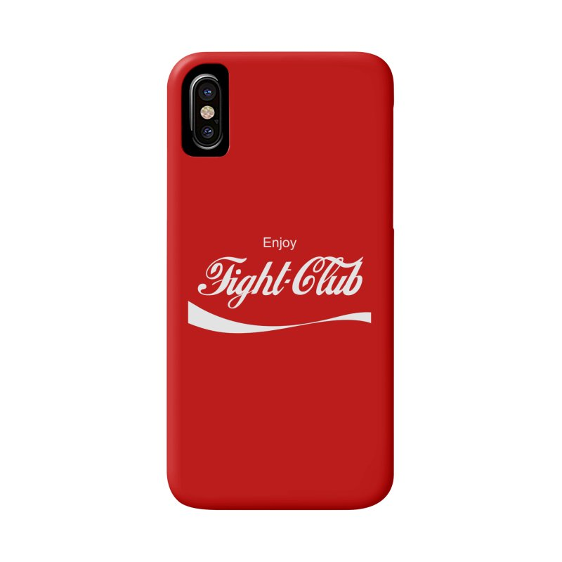 Enjoy Fight Club Accessories Phone Case by The Official ChuckPalahniuk.net Shop