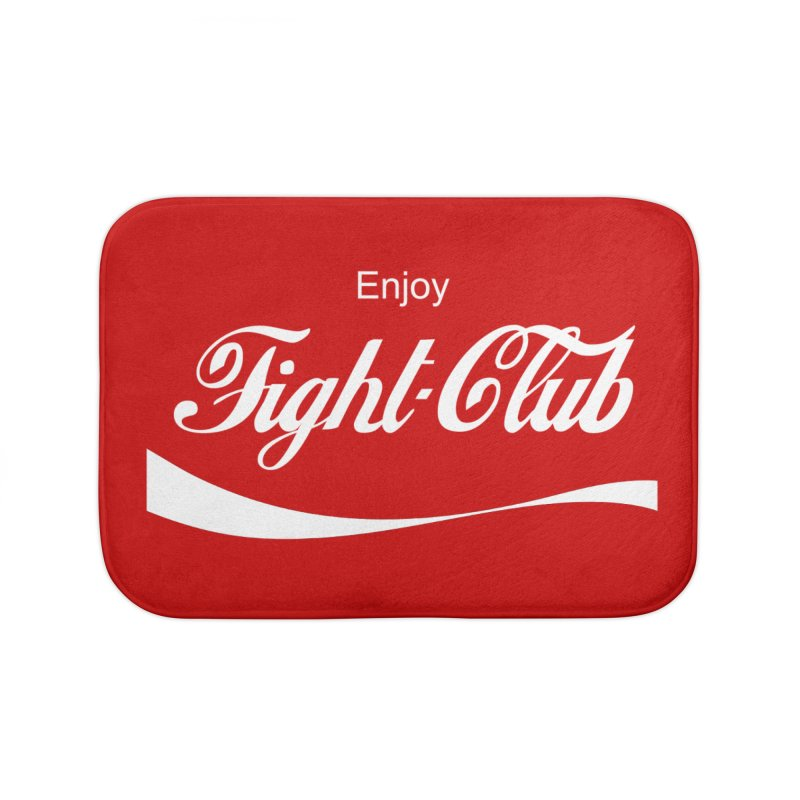 Enjoy Fight Club Home Bath Mat by The Official ChuckPalahniuk.net Shop