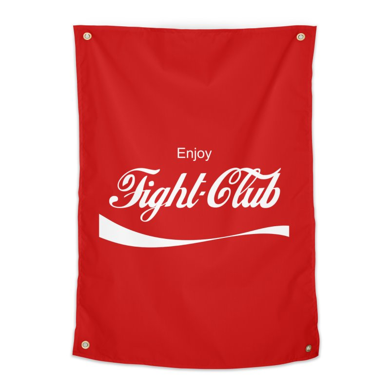Enjoy Fight Club Home Tapestry by The Official ChuckPalahniuk.net Shop