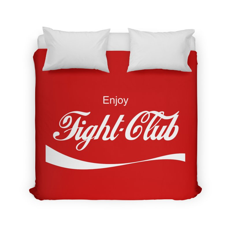 Enjoy Fight Club Home Duvet by The Official ChuckPalahniuk.net Shop