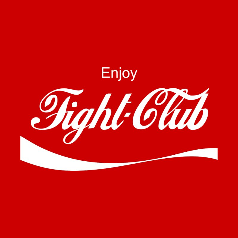 Enjoy Fight Club Men's V-Neck by The Official ChuckPalahniuk.net Shop