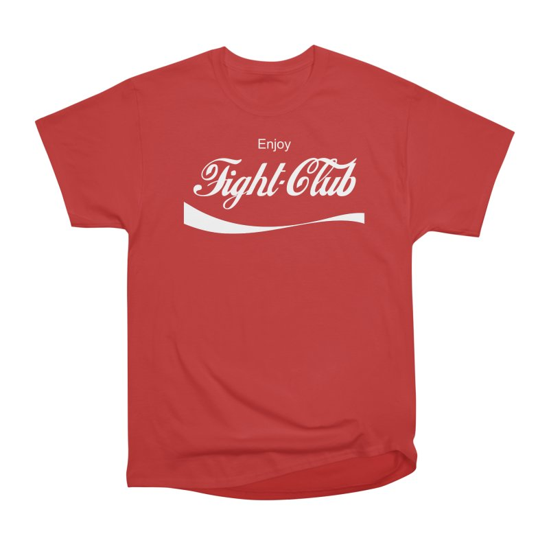 Enjoy Fight Club Women's Heavyweight Unisex T-Shirt by The Official ChuckPalahniuk.net Shop