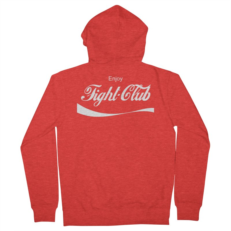 Enjoy Fight Club Women's Zip-Up Hoody by The Official ChuckPalahniuk.net Shop