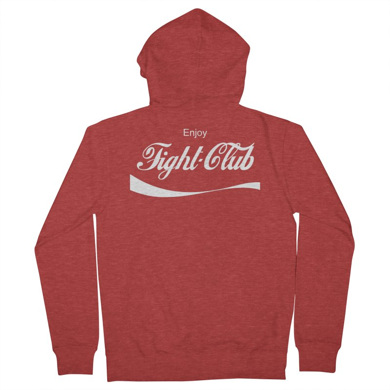 Enjoy Fight Club Women's French Terry Zip-Up Hoody by The Official ChuckPalahniuk.net Shop