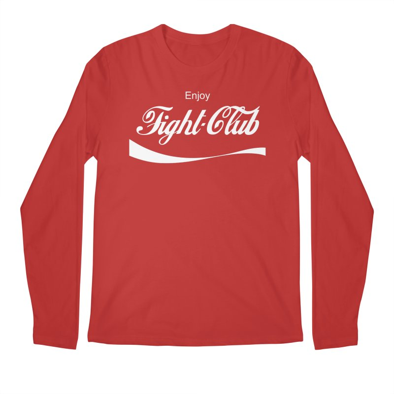 Enjoy Fight Club Men's Regular Longsleeve T-Shirt by The Official ChuckPalahniuk.net Shop