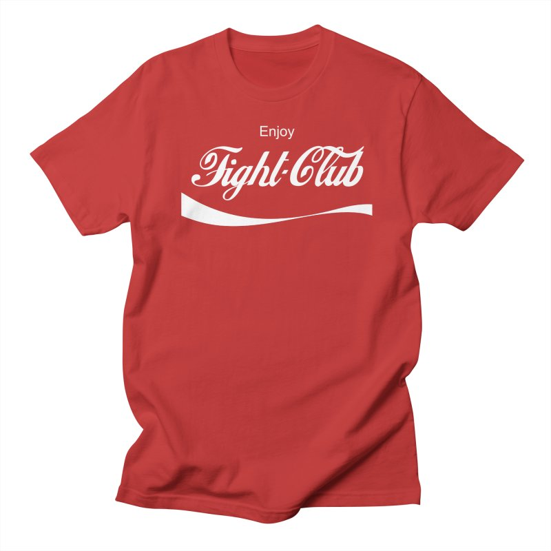 Enjoy Fight Club Men's Regular T-Shirt by The Official ChuckPalahniuk.net Shop