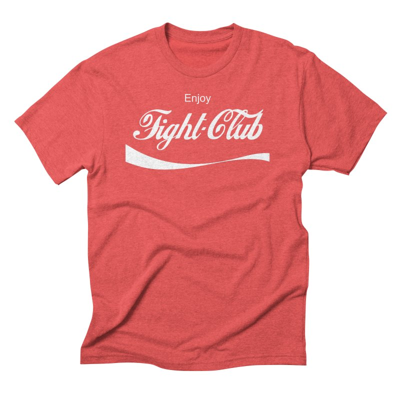 Enjoy Fight Club Men's Triblend T-Shirt by The Official ChuckPalahniuk.net Shop