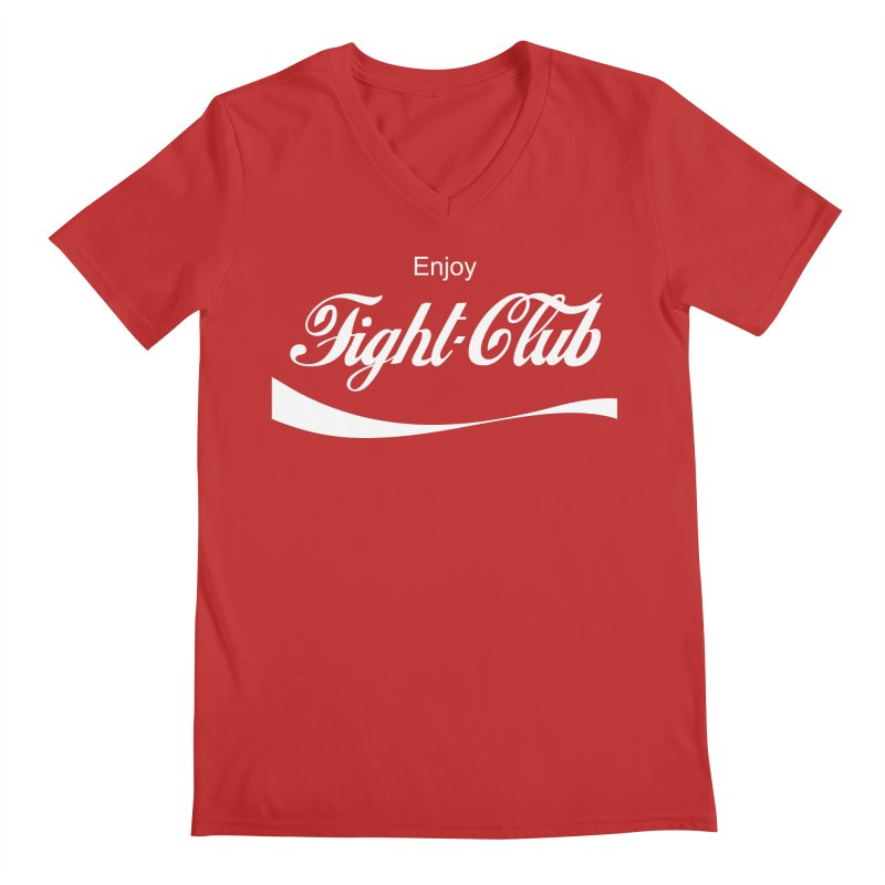 Enjoy Fight Club Men's Regular V-Neck by The Official ChuckPalahniuk.net Shop