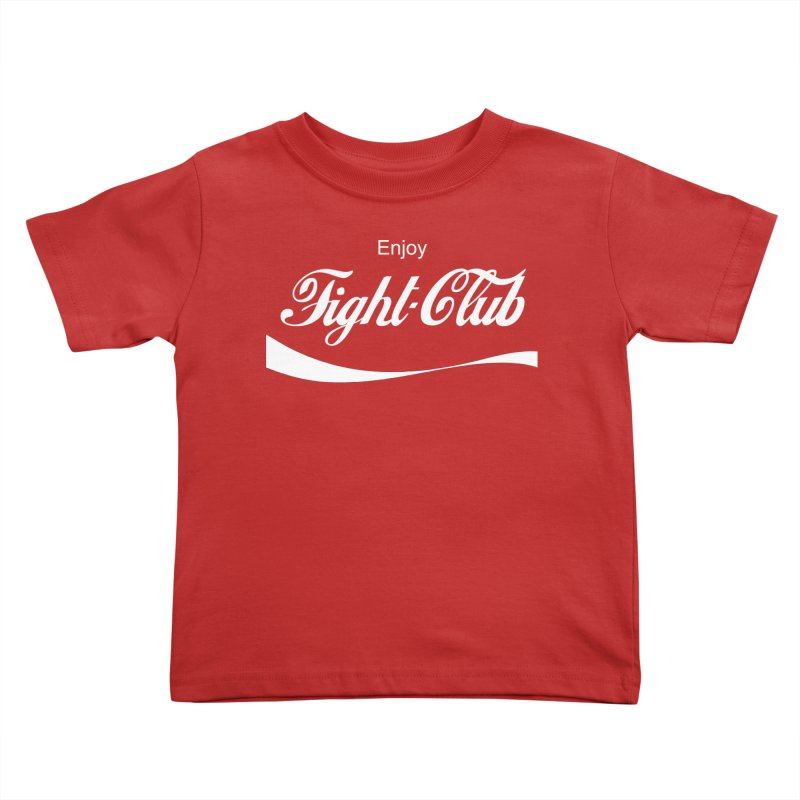 Enjoy Fight Club Kids Toddler T-Shirt by The Official ChuckPalahniuk.net Shop