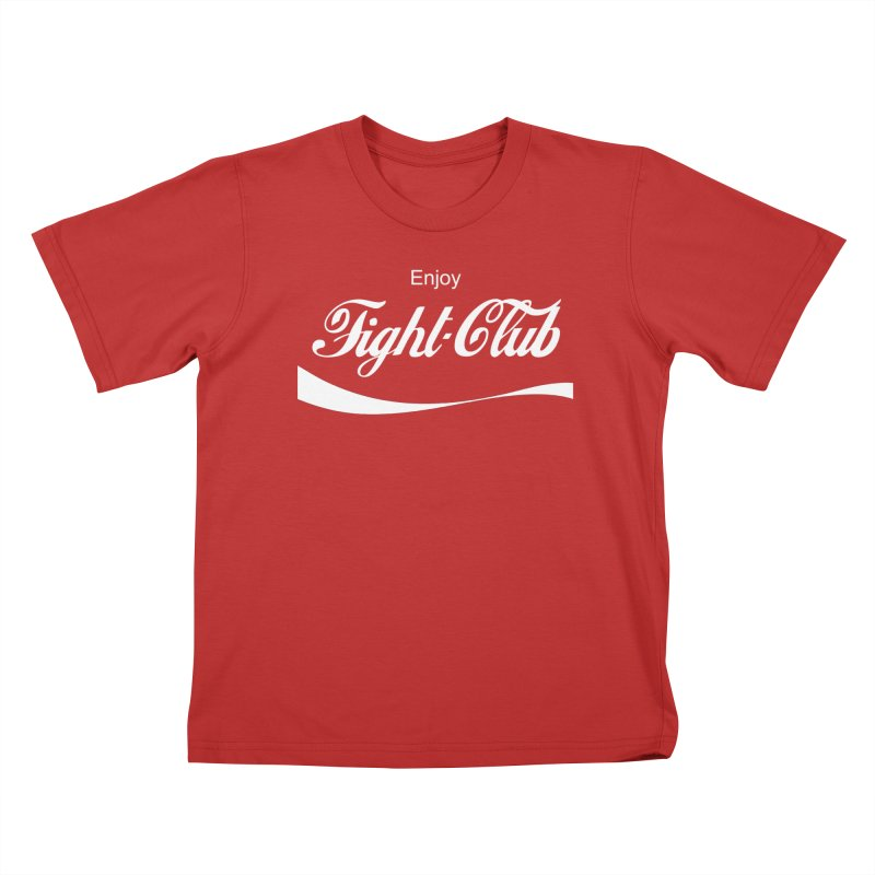 Enjoy Fight Club Kids T-Shirt by The Official ChuckPalahniuk.net Shop