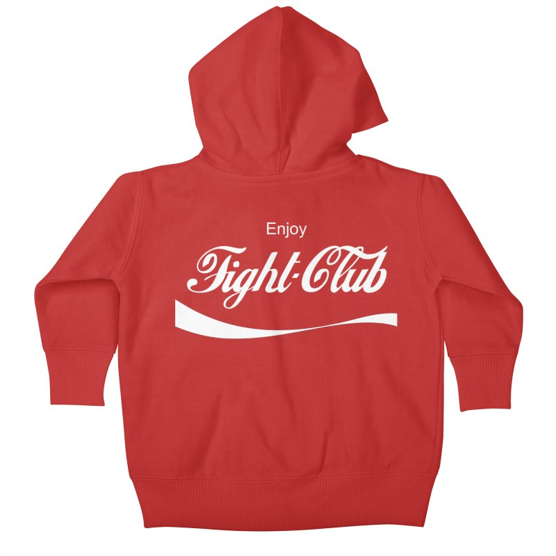 Enjoy Fight Club Kids Baby Zip-Up Hoody by The Official ChuckPalahniuk.net Shop