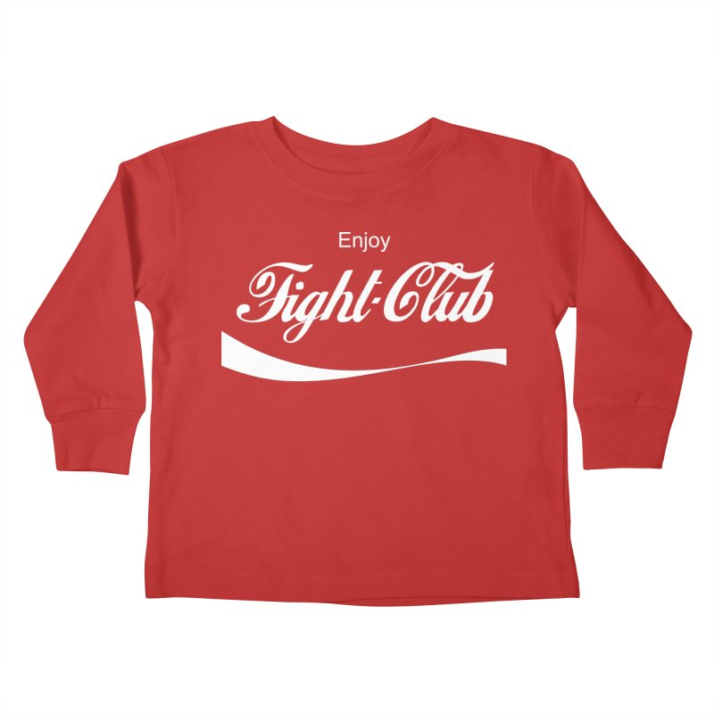 Enjoy Fight Club Kids Toddler Longsleeve T-Shirt by The Official ChuckPalahniuk.net Shop