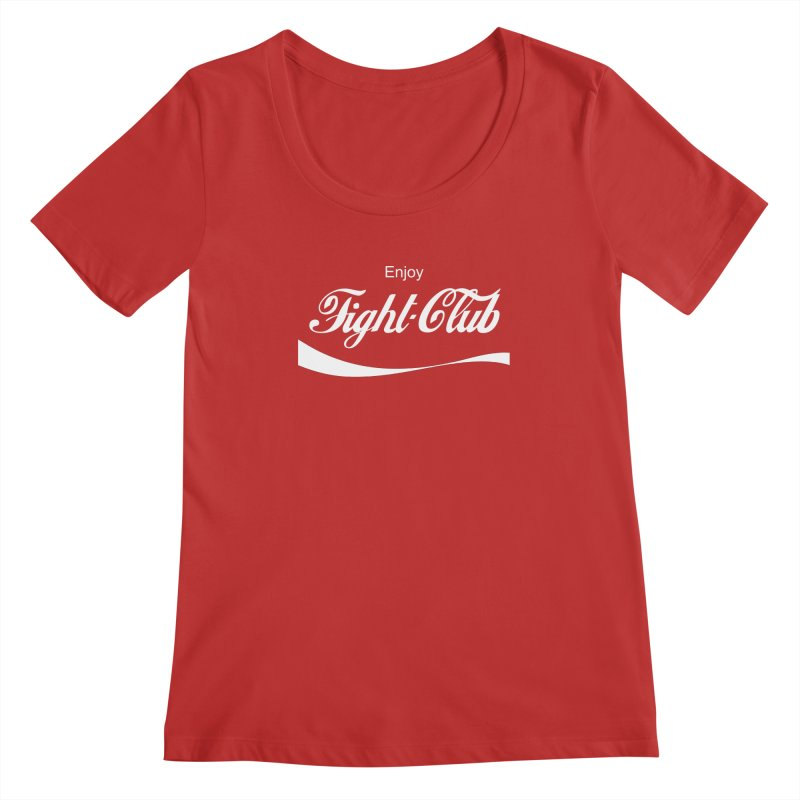 Enjoy Fight Club Women's Scoopneck by The Official ChuckPalahniuk.net Shop