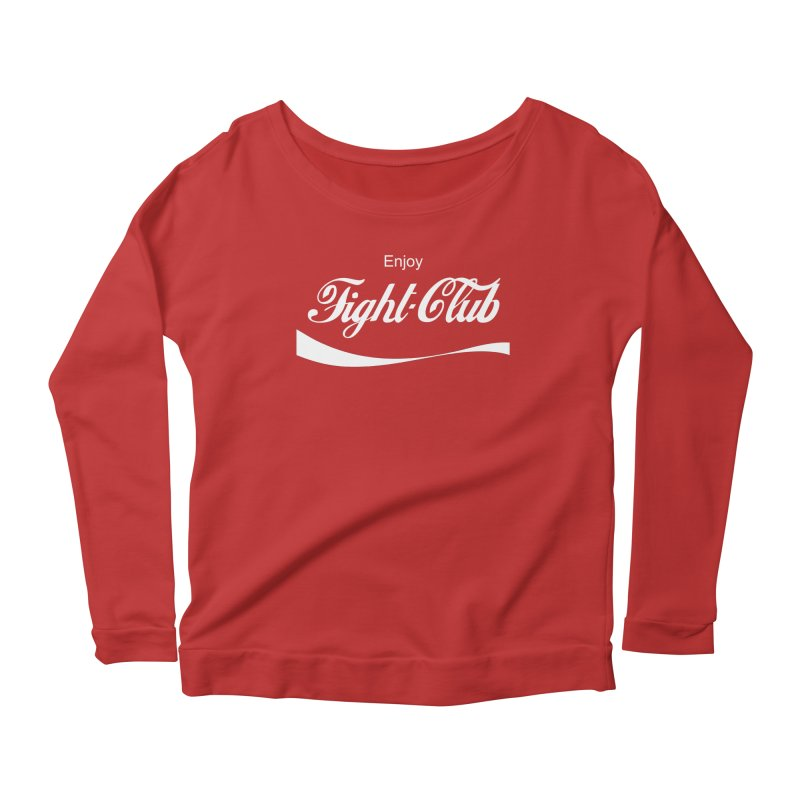 Enjoy Fight Club Women's Scoop Neck Longsleeve T-Shirt by The Official ChuckPalahniuk.net Shop