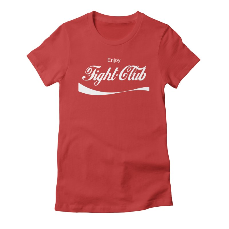 Enjoy Fight Club Women's Fitted T-Shirt by The Official ChuckPalahniuk.net Shop