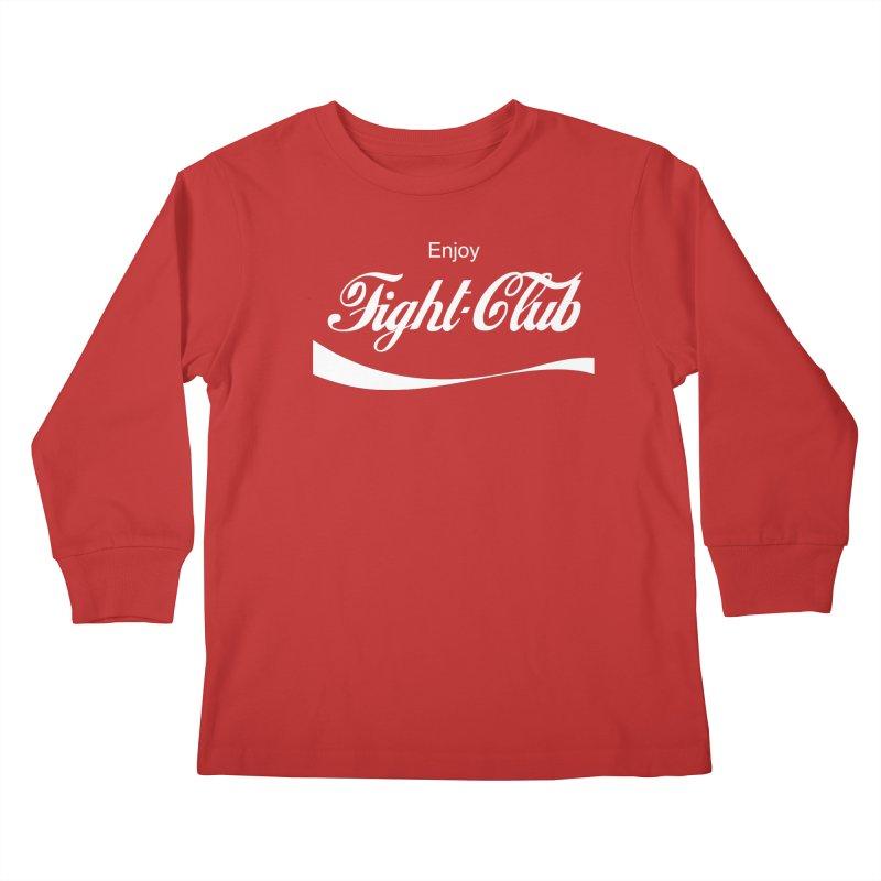 Enjoy Fight Club Kids Longsleeve T-Shirt by The Official ChuckPalahniuk.net Shop