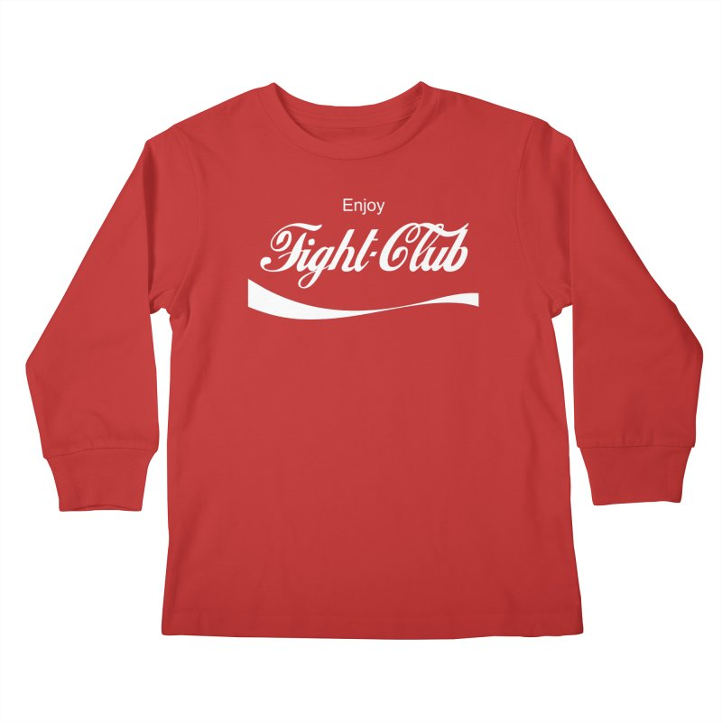 Enjoy Fight Club Kids Longsleeve T-Shirt by The Official ChuckPalahniuk.net Shop