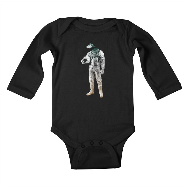Fly Kids Baby Longsleeve Bodysuit by Chuck Pavoni