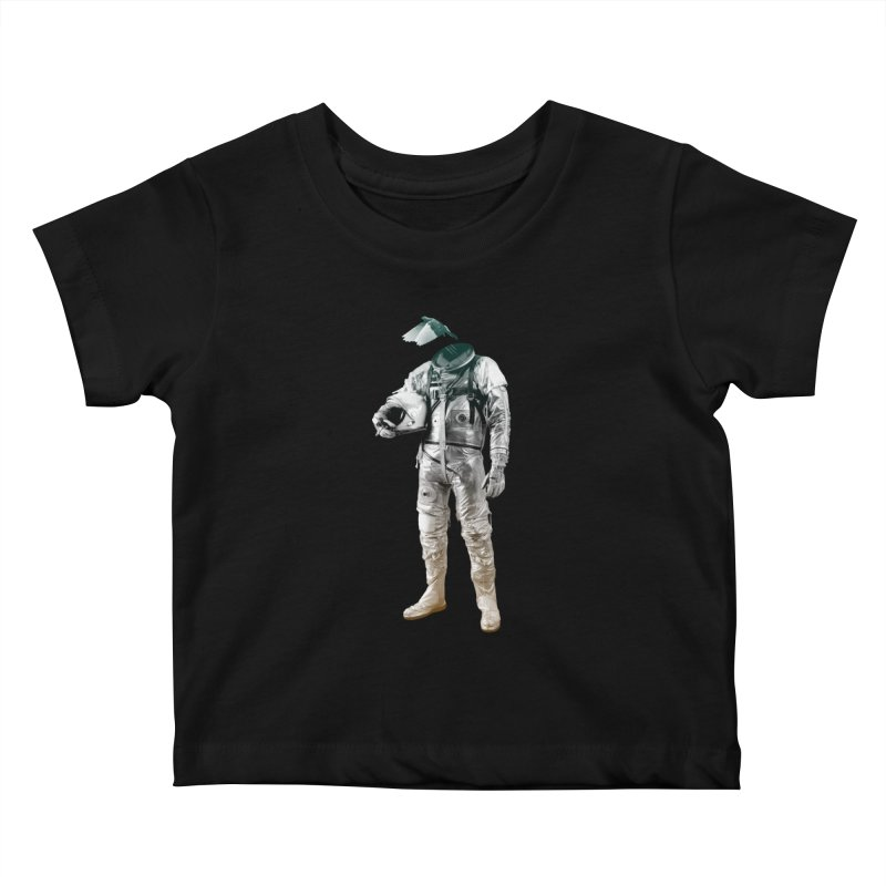 Fly Kids Baby T-Shirt by Chuck Pavoni