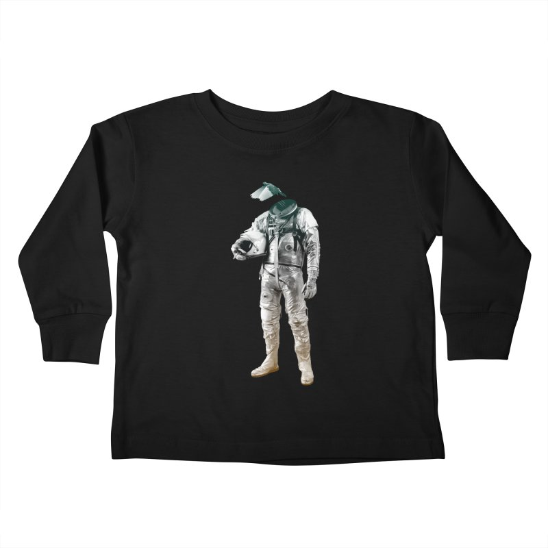 Fly Kids Toddler Longsleeve T-Shirt by Chuck Pavoni