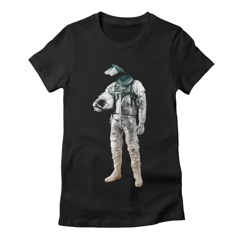 Fly Women's Fitted T-Shirt by Chuck Pavoni