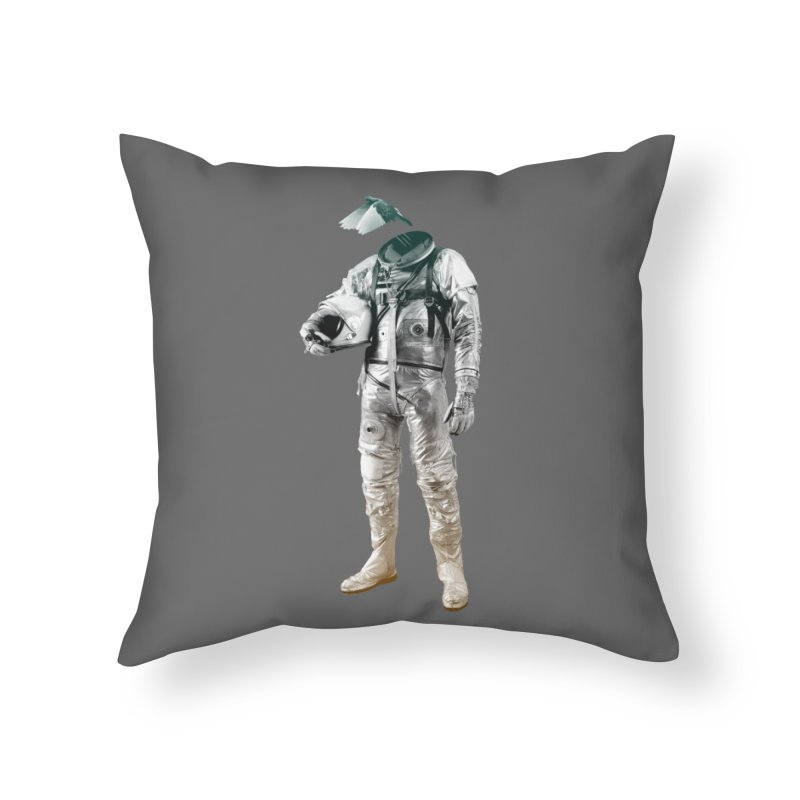 Fly Home Throw Pillow by Chuck Pavoni
