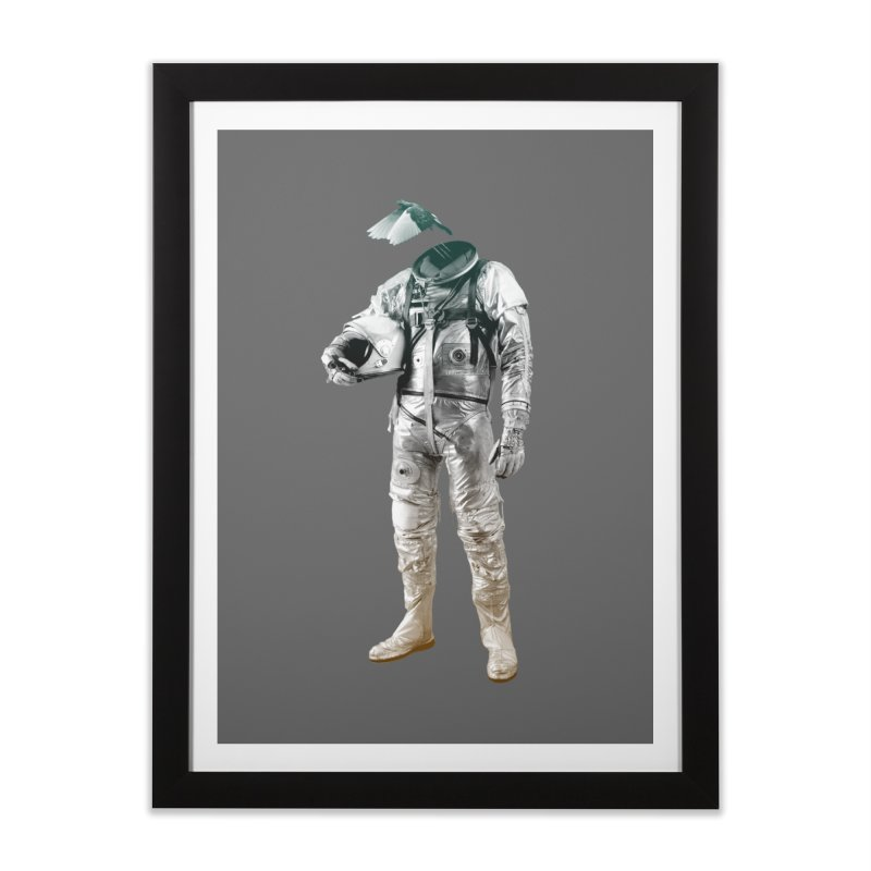Fly Home Framed Fine Art Print by Chuck Pavoni
