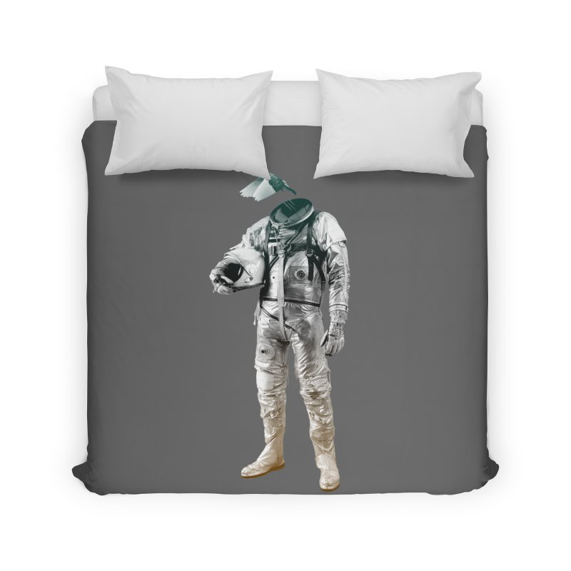 Fly Home Duvet by Chuck Pavoni