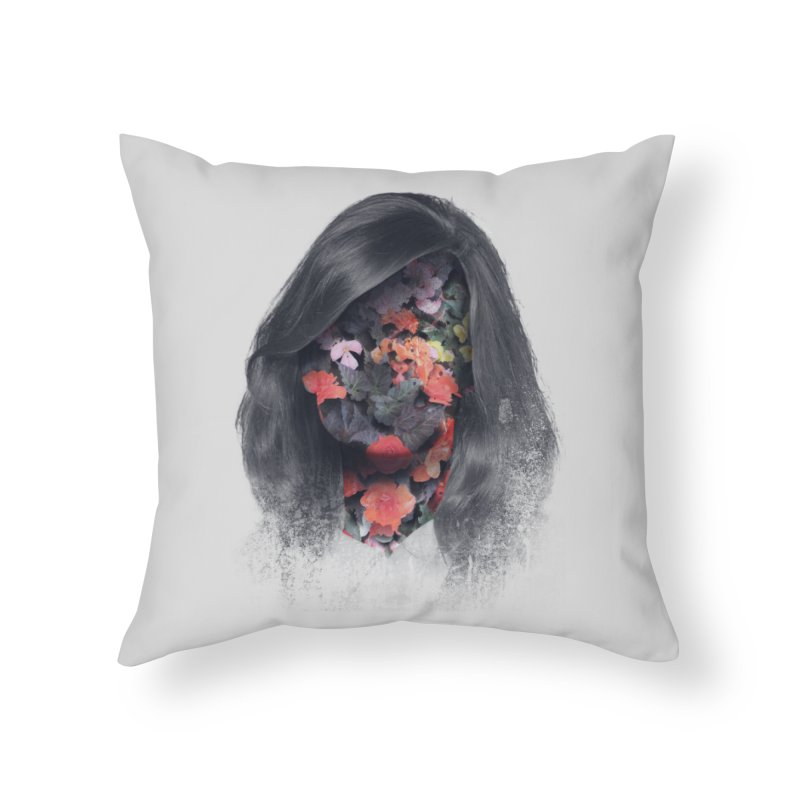 Natural Beauty Home Throw Pillow by Chuck Pavoni