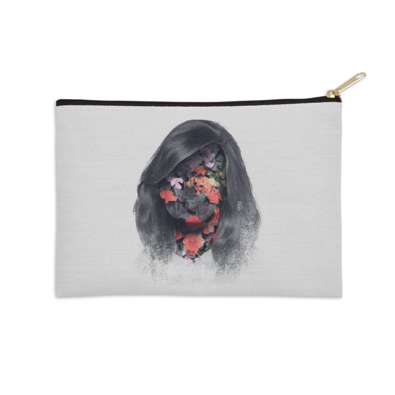 Natural Beauty Accessories Zip Pouch by Chuck Pavoni
