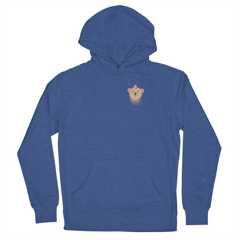scout Men's French Terry Pullover Hoody by Chuck Pavoni
