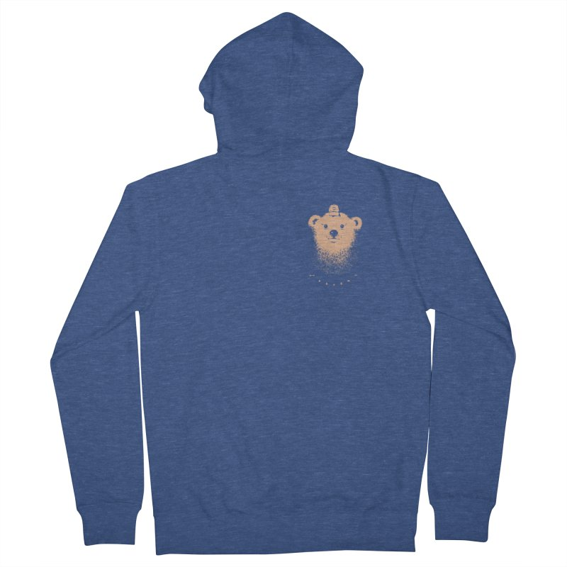 scout  Men's Zip-Up Hoody by Chuck Pavoni