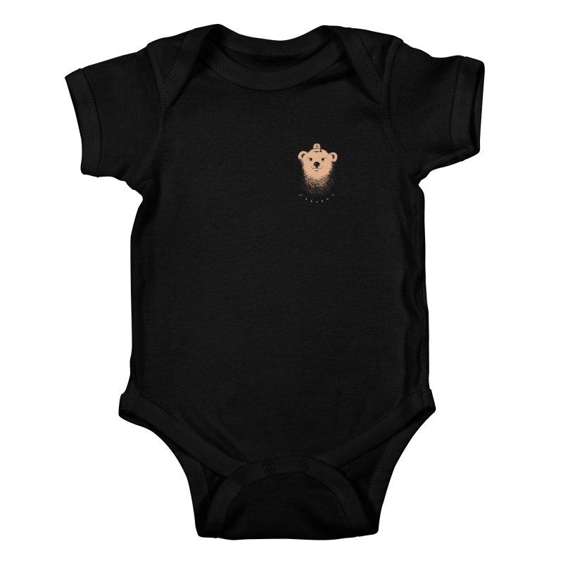 scout  Kids Baby Bodysuit by Chuck Pavoni