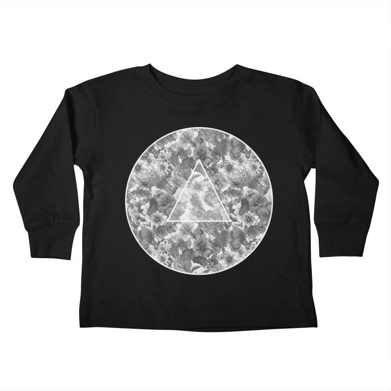 Flux 2.0 Kids Toddler Longsleeve T-Shirt by Chuck Pavoni